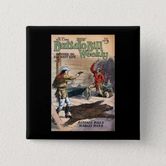 The New Buffalo Bill Weekly No. 74 1914 15 Cm Square Badge