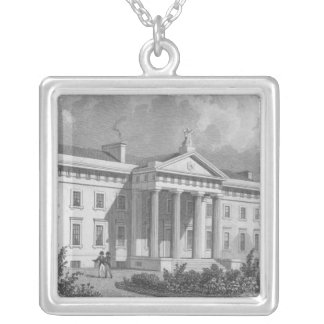 The New Caledonian Asylum Silver Plated Necklace