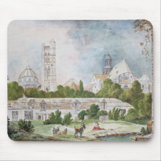The New Church of Sainte-Genevieve Mouse Mat