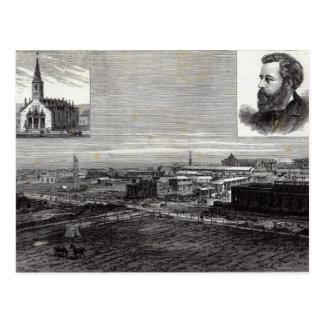 The new city of La Plata Postcard