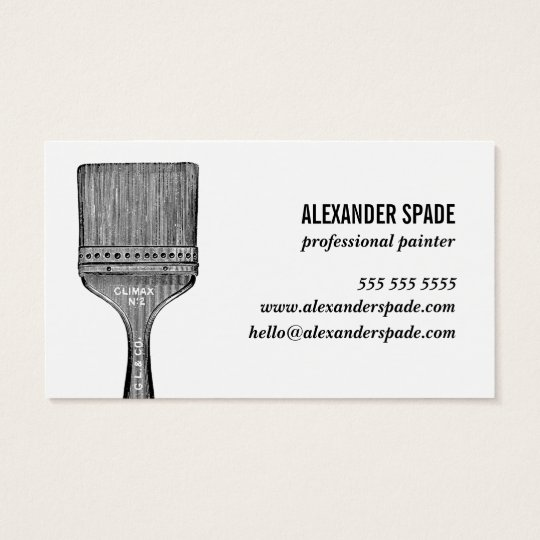 The New Cool Biz Card Painter, Contractor, Custom