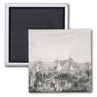 The New Crystal Palace at Sydenham, engraved by La Square Magnet