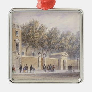The New Entrance to Grocers' Hall, 1854 Christmas Ornament
