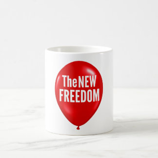 The New Freedom mug