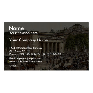 """The """"New Guard"""" and street scene, Berlin, Germany Pack Of Standard Business Cards"""