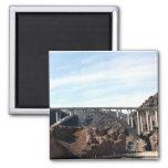 The New Hoover Dam Bypass Bridge Refrigerator Magnet
