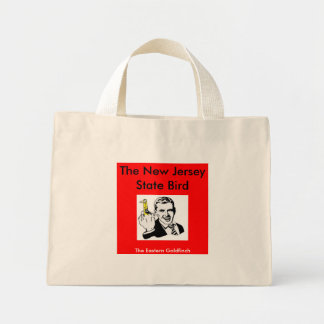 The New Jersey State Bird Mini Tote Bag