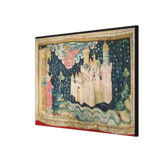The New Jerusalem Stretched Canvas Prints