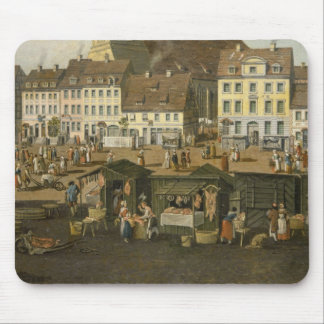 The New Market in Berlin with the Marienkirche Mouse Pad