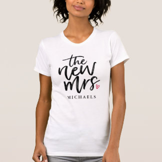 The New Mrs. (Name) T-Shirt