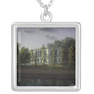 The new pavilion silver plated necklace