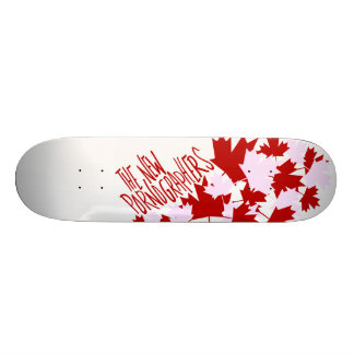The New Pornographers Oh Canada! 18.1 Cm Old School Skateboard Deck