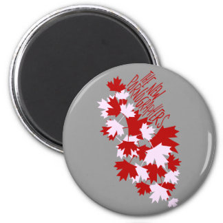 The New Pornographers Oh Canada! 6 Cm Round Magnet