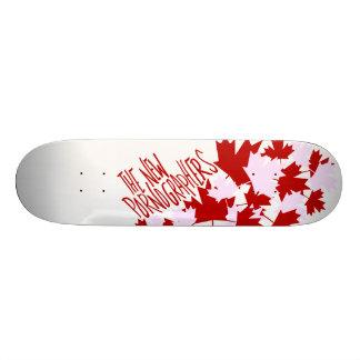 The New Pornographers Oh Canada Skate Board Decks