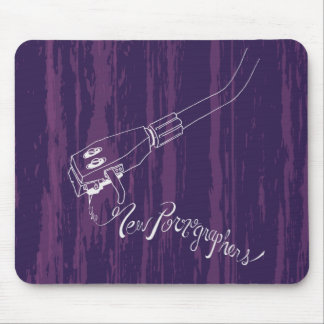 The New Pornographers Record Arm Mouse Mat