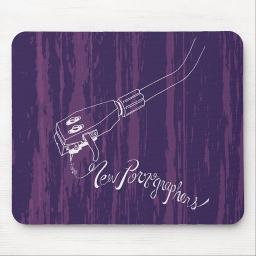 The New Pornographers Record Arm Mouse Pads