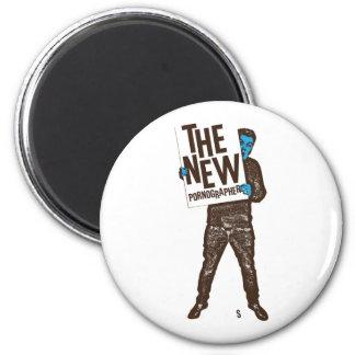 The New Pornographers Sign 6 Cm Round Magnet