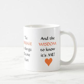 The NEW Serenity Prayer - mug