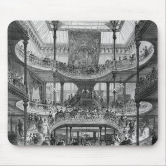 The New Staircase in 'Au Bon Marche' Mouse Mat
