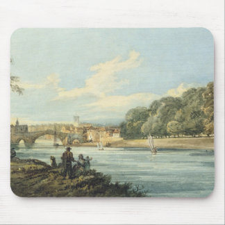 The New Walk, York, c.1798 (pencil and w/c on pape Mouse Mat