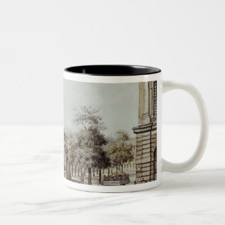 The new Watch House, next to the Armoury, Berlin Two-Tone Coffee Mug