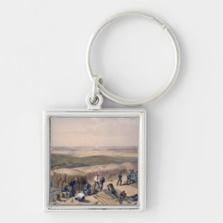 The New Works on the Right Attack, plate from 'The Silver-Colored Square Key Ring