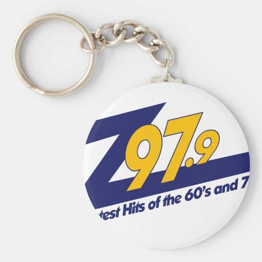 The New Z979 Logo Basic Round Button Key Ring