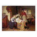 The Newborn Child Postcard