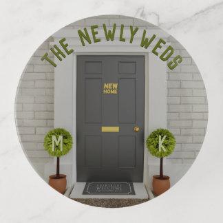 The Newlyweds New Home House Keys Trinket Tray