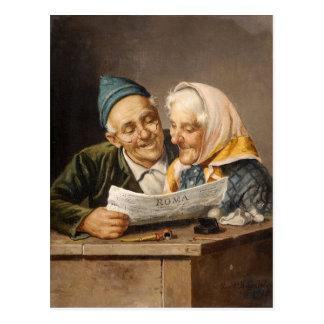 The news - Busciolano Postcard