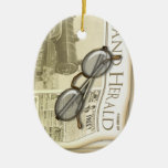 The Newspaper Personalised Ornament
