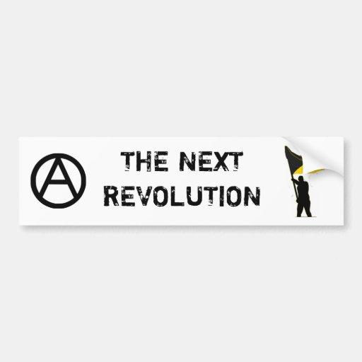 The Next Revolution Bumper Sticker