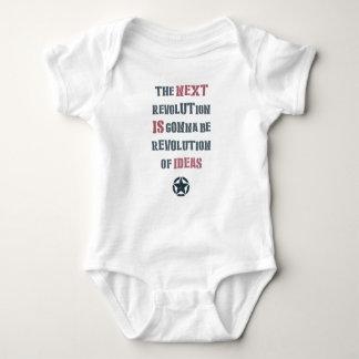 The next revolution is gonna be revolution of idea baby bodysuit
