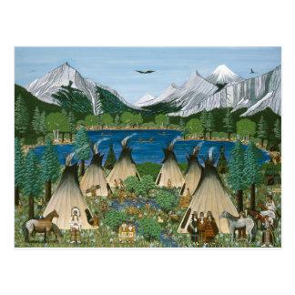The Nez Perce Wallowa Lake Post Cards