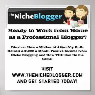 The Niche Blogger Poster