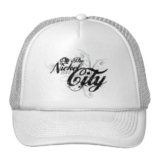 The Nickel City Gothic Style Trucker Hat
