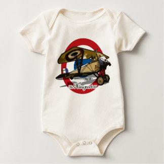 The Nieuport 11 Baby Bodysuit