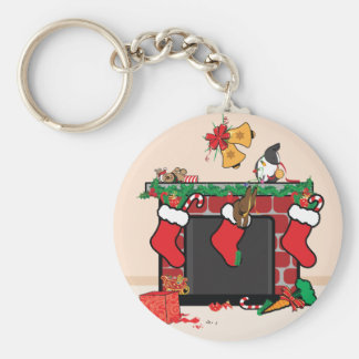 THE NIGHT BEFORE BUNMAS BASIC ROUND BUTTON KEY RING