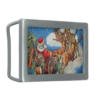 The Night Before Christmas Belt Buckle