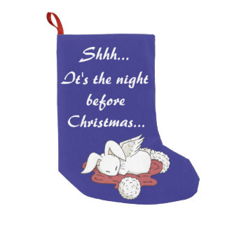 The night before Christmas - Bunny Stocking
