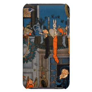 The Night Before Christmas, by Denlow, 1903 (colou iPod Case-Mate Case