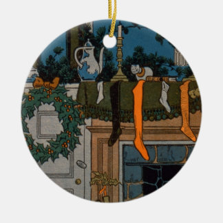 The Night Before Christmas by Denlow, 1903 (colour Christmas Ornament