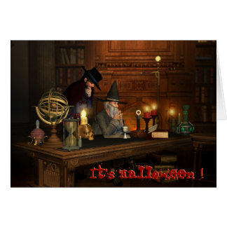 The Night before Halloween Greeting Card