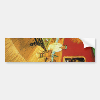 The Night Cafe by Vincent Van Gogh Bumper Sticker