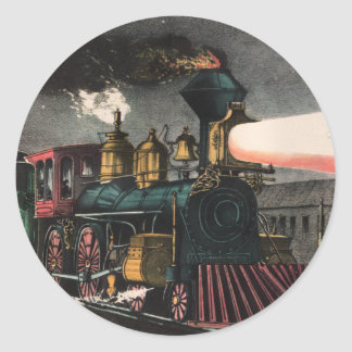 The Night Express Stickers