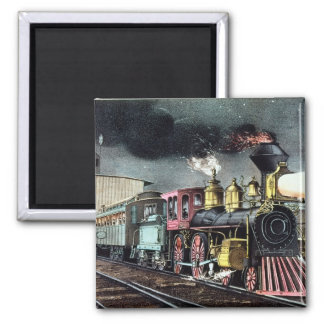 The Night Express: The Start Refrigerator Magnet