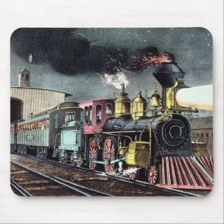 The Night Express: The Start Mouse Mat