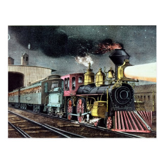 The Night Express: The Start Postcard