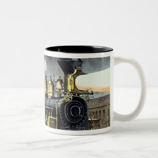 The Night Express: The Start Two-Tone Coffee Mug