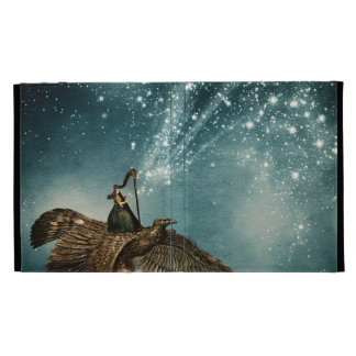 The Night Goddess - digital art iPad Cases